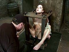 This sex master got some refined devices, designed to torture petite sirens like Remy LaCroix. Babe loved the pain and she will want it more.