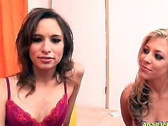 Sweet looking bitch Leah Luv gets her pussy and anus licked by her lustful girlfriend. watch two sweet lesbians for free. They know how to satisfy you.