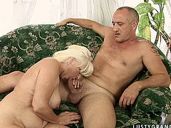 Kinky booty pale and wrinkled old whore unzips dude's pants and sucks his dick passionately for cum. This fatso with huge ass is surely worth checking out in steamy 21 Sextury xxx clip to jerk off a bit.