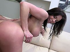 Busty dolly Kendra Lust loves to take her mans fat cock in her delicious moist pussy from behind