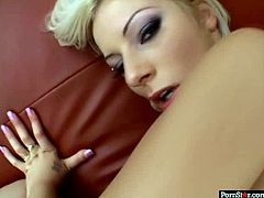 Whorish blonde gets her ass hole rammed hard in doggy style. She moans pleasingly and enjoys every cock insertion. Watch pov anal sex tube video for free.