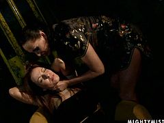 Wicked mistress puts her skills to the test giving every kind of kinky torture to this slutty girl who loves every second.