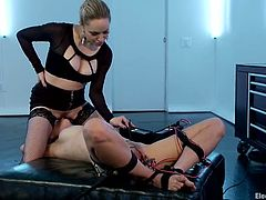 Lesbian Domination with Face Sitting and Torture for Raven Rockette