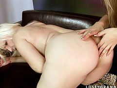 Kinky blond haired sexy lesbos presented in 21 Sextury xxx clip will surely make you cum. Wondorus hotties with sweet tits and nice rounded butts enjoy eating and spooning each other's wet juicy pussies in 69 right on the couch.