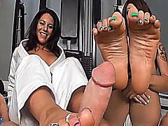 Bella Reese - Foot Master Angel Footjob 1