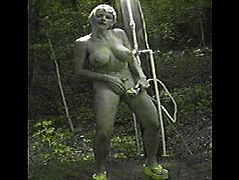 Vicky Vette Outdoor Shower