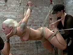 Lorelei Lee gets face-fucked by Mark Davis in amazing BDSM scene