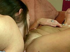Go fro the hottest 21 Sextury lesbian sex tube video. Nasty brunette licks pussy and tickles clit of one mature lesbian. Enjoy them for free.