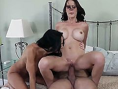 Interested in watching threesome sex between Ava Addams, Mckenzie Lee and Preston Parker Then see all things the perverted hugecocked pal is doing with two naughty gals.