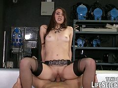 Naughty French wannabe actresses do everything to get a part in a new movie. Watch them sucking big cocks and fucking like never before just to get the role!
