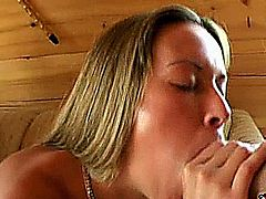 Naughty XXX star Angel loves to get some pussy and anal fucking with some studs like these! But this hardcore scene gets better when it turns into brutal double penetration action! Watch this bitch ride the cock anally and get face creamed nicely at the end!