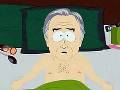 In this South Park porn the South Park Elementary teacher has had a sex changes. He is now a she and has a fancy new vagina. The atheist Richard Dawkins grabs her boobs and then she climbs on his big hard cock. She fucks him like crazy until her new vagina is dripping pussy juice all over his dick.