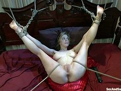 Penny PAx loved being fucked in ass in bondage