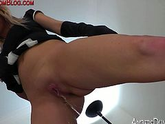 It doesn't make Mistress Alexis very happy when her patient is late for his session and she makes him pay dearly with hardcore femdom treatment  free tube video.