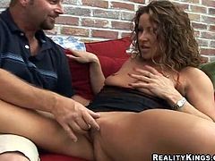 Horny motherfucker bangs a hot bitch and blasts the cum all over her motherfucking slut face, check it out right here, it's fucking awesome!