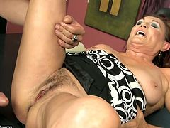 This bitch presented in 21 Sextury xxx clip is ugly as hell. Black haired fat and wrinkled old slut desires to get her soaking cunt fucked from behind. Booty disgusting fatso moans passionately feeling a deep dick penetration.