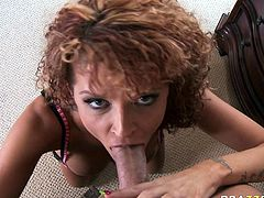 Dirty milf is eager to have this stud fucking her hard and filling her with cream