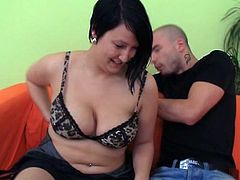 Stunning fatty is picked up and got laid