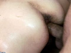 Aren't you seeking for delight? Then enjoy this steamy 21 Sextury xxx clip. Wondrous brunette whore wife sucks and rides a stiff long cock. Then slim pale nympho desires to get her mature wet cunt drilled doggy for orgasm.