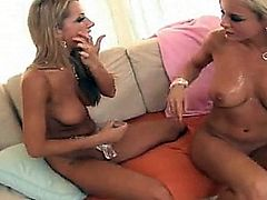 BREE OLSEN AND SAMMIE RHODES FUCK THEIR ASSES WITH TOYS
