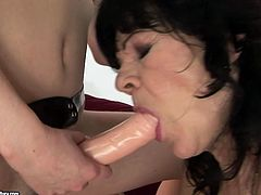 If you are into a lesbian porn, then this hot video is worth checking out! There's plenty of strapon action going on. Make sure you don't miss this old vs young scene.