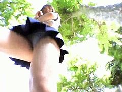 Many young schoolgirls expose their panties without even knowing. A spy cam catches all on tape while they are outdoors. If they knew they were being watched they would probably enjoy it!