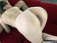 This takes Asami Ogawa's jeans off and delights himself staring at her ass and enjoying her tight Japanese pussy.