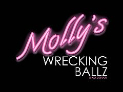 "Devil's Film proudly presents ""Molly's Wrecking Ballz"", a full-length XXX parody starring the infamous Miley Mae and her favorite celebrity fuck friends. Directed by Hall of Fame shooter Barrett Blade, this hardcore feature follows the adventures of America's pill-popping princess Molly, as she sucks and fucks her way to stardom with Hollywood's hottest celebs. With pseudo appearances by Beyonce, Liam Hemsworth, Robin Thicke, and Justin Beiber look-alikes, this A-list fuck fest is sure to make headlines and turn heads.