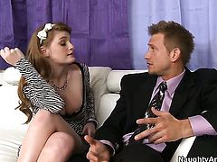Faye Reagan has great sexual experience and expands it with horny bang buddy Bill Bailey