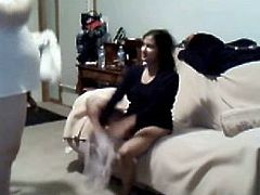 Indian  NRI Girl BJ to her boss , allow to spray his CUM