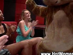 Cfnm deep throats black cock at bachelorette party hd