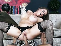 Keiran Lee wants to fuck amazing Eve Laurences nice muff forever