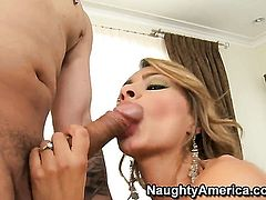 Anthony Rosano pulls out his boner to fuck lovely Esperanza Gomezs bush