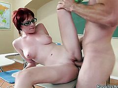 Zoey Nixon loses control in sexual frenzy with horny dude Jordan Ash