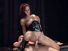 Press play on this hardcore scene and watch Sandra Romain suck cum out of this guy veined cock after being fucked silly by him.