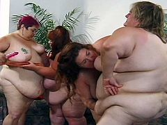 Sindee williams shows you fat girls need love to , with the help of her friends and they toy the day away.Enjoy the biggest boobs and pussy toying show with these fat babes.