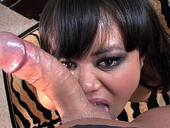 She loves to get dirty and feel jizz dripping her lusty mouth