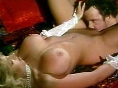 Busty MILF Victoria Paris in hot vintage fucking encounter. She surely sucks like a pro and opens that wet pussy like a pro. She will arouse you with her classic moves.