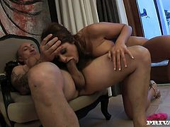 Cock lover Cathy Heaven is into big dicks