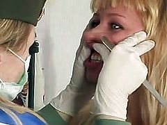 Particular medical test for enchanting blond