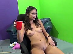 Slim brunette hottie Anna Morna is having a good time with Travis Varjak indoors. They have passionate oral sex and then Anna takes a great ride on the Travis's prick.