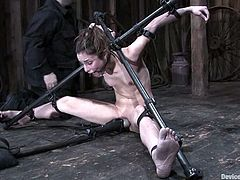 This BDSM is so fucking mind changing. Beautiful babe is being turned into a hunk of meat after what happens to her in this act of sadism.
