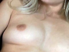 Bree Daniels plays with her soaking wet honeypot after stripping