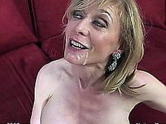 Nina Hartley with Johnny Sins of cougars in heat