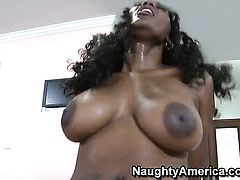 Danny Wylde seduces Nyomi Banxxx with round booty and bald muff into fucking