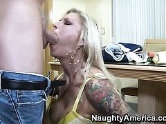Brooke Banner gets her wet hole destroyed by hard love stick of Mark Wood