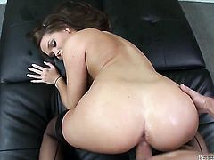 Abby Cross gets ruthlessly fucked in her mouth by Will Powers