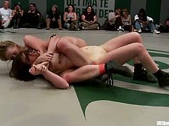 These chicks do not need any clothes when they wrestle. That is why it is always interesting to watch Ultimate Surrender catfight.