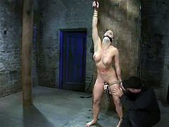 Holly Heart the busty slave gets toyed and humiliated