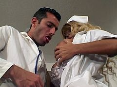 This filthy and juicy nurse is so damn naughty and so fucking filthy! She enjoys a huge cock with so much passion and glory!